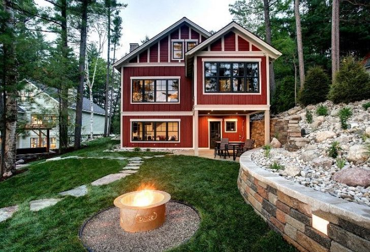 Permalink to Lake Cabin Exterior Gallery