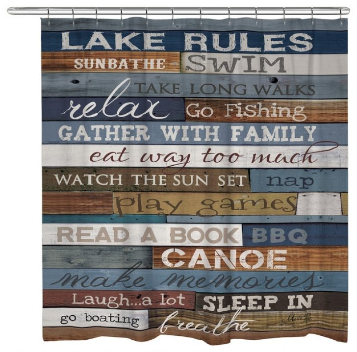 Permalink to Simple Lake Cabin Shower Curtains Gallery