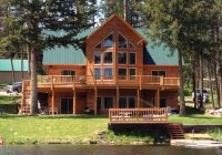 lakefront placid lake cabin bnb daily Seeley Lake Cabins