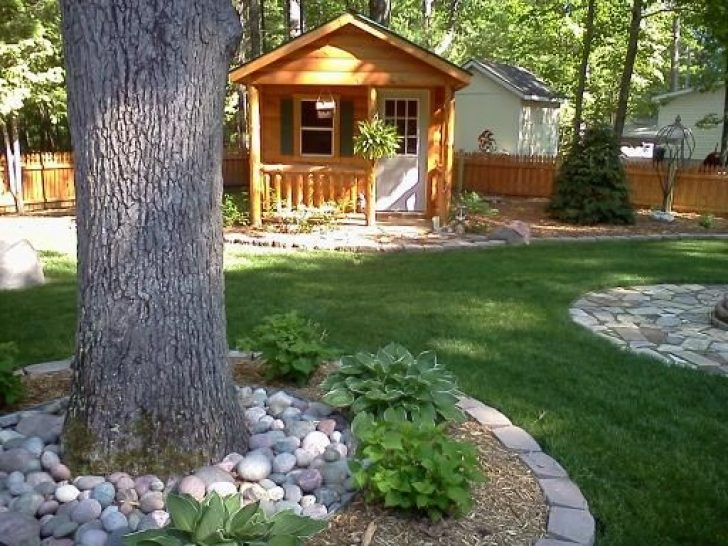 Permalink to Perfect Cabin Landscaping Ideas