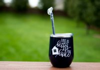 life is better at the lake tumber wine glass cocktail etsy Lake Cabin Gift Ideas