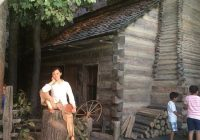 lincoln log cabin scene picture of abraham lincoln Abraham Lincoln Cabin