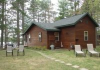 little st germain lake northern wisconsin northwoods Lake Cabin Rentals Wisconsin