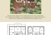lodge log and timber floor plans for timber log homes Cabin House Floorplans