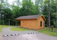 lodging locations map Ricketts Glen State Park Cabins
