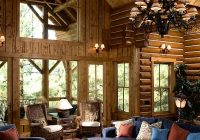 log cabin decor ideas house home decorations and accessories Modern Log Cabin Decor