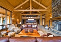 log cabin furniture ideas how to choose the right pieces Log Cabin Living Room Furniture