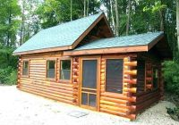 log cabin kits small cabins cottage for wood house home Pre Built Small Cabins