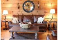 log cabin living room before and after photos log home Log Cabin Living Room Furniture