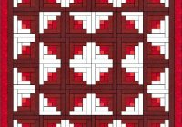 log cabin quilt is one of the easiest quilt blocks to construct Examples Of Log Cabin Quilts