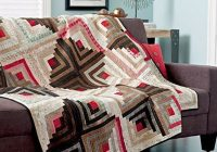 log cabin quilt patterns allpeoplequilt Log Cabin Quilts