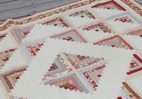 log cabin quilts are so versatile yet easy to make Examples Of Log Cabin Quilts