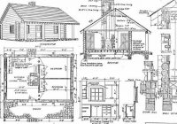 log home plans 40 totally free diy log cabin floor plans Free Cabin Plans With Loft