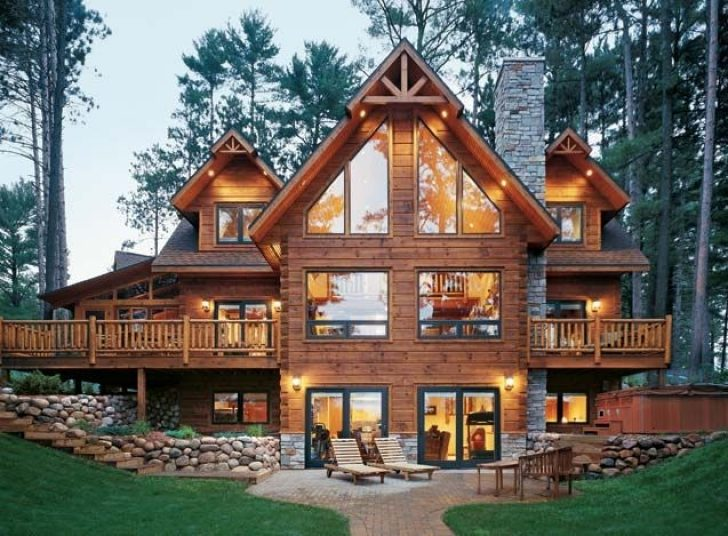 Permalink to Perfect Log Cabin Style  Ideas