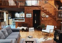lovely cabin in the woods of massachusetts hid360 Contemporary Small Cabin Interior Design Ideas