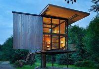 low maintenance prefab tiny steel country cabin Small Prefab Cabins