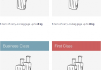 lufthansa airlines baggage fees guide carry on checked Lufthansa Cabin Baggage