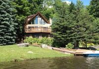 luxury lakefront pocono retreat lake ariel near lake wallenpaupack wallenpaupauk lake estates Lake Cabin Poconos