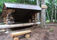 mackenzies lean to an adirondack lean to for rent Adirondack Cabins