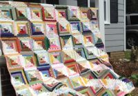 make yourself at home 7 cozy log cabin quilt patterns Log Cabin Quilt Layouts 7 By 7