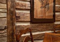 man cave from diy network blog cabin 2009 faux cabin walls Cabin Interior Wall Material