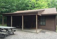 modern cabin stay review of ricketts glen state park Lake Jean Cabin Rentals