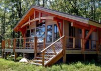 modern house plans under 1000 sq ft tiny timber frame Timber Frame Small Cabin/