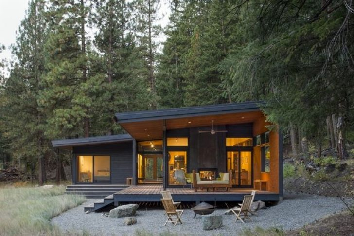 Permalink to Tiny Modern Cabin Designs
