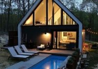 modern upstate ny cabin hot pool in the woods cabins Cabins Upstate Ny