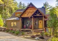 mountain house plans max fulbright designs Mountain Cabin Plans With Loft