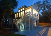 narrow lot house plans coastal home plans Lake Cabin Plans Narrow Lot