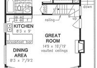 nice floor plan sleeping loft with storage upstairs but no 2 Bedroom Cabin Plans With Loft
