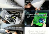 nina on the moon changing cabin air filters in 5 easy Fram Cabin Filter