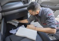 nissan is replacing cabin air filters for free in california Replacing Cabin Air Filter