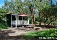 oahu camping malaekahana beach campground to hawaii Malaekahana Cabins