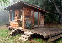 off grid tiny house deep in the carolina woods built for Small Off Grid Cabin