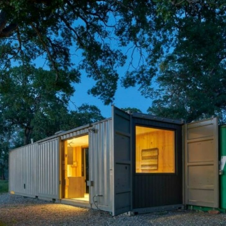 Permalink to Elegant Shipping Container Cabins