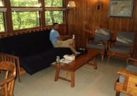 our cabin living room picture of hanging rock state park Hanging Rock State Park Cabins