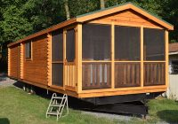park model log cabins lancaster log cabins Mobile Home Cabins