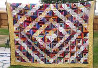 photo gallery and layout tips for log cabin quilts Log Cabin Quilt Designs