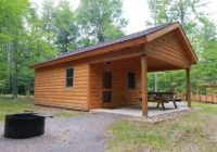 photo huron deluxe cottages glamping cottage state Ricketts Glen Cabins