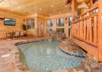 pigeon forge cabin cooper river indoor pool places to Cabin In Tennessee With Indoor Pool