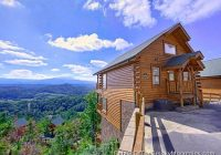 pigeon forge cabin mountaintop delight 1 bedroom sleeps 4 Pigion Forge Cabins