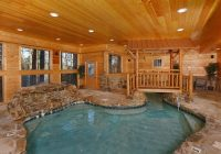 pigeon forge tn cabins copper river Cabin In Tennessee With Indoor Pool