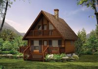 plan 032h 0005 find unique house plans home plans and Two Story Cabin Plans