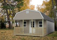 portable cabins countryside barns Lofted Cabin
