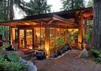 post and beam studio with sod roof and 42 overhangs small Small Post And Beam Cabins