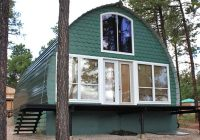 prefabricated arched cabins can provide a warm home for Arched Cabins