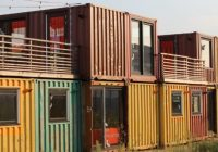 pros and cons of shipping container housing natural Shipping Container Cabins