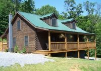 quiet secluded hilltop log cabin get away vacation cabin rental with king bed Cabins In Shenandoah Va